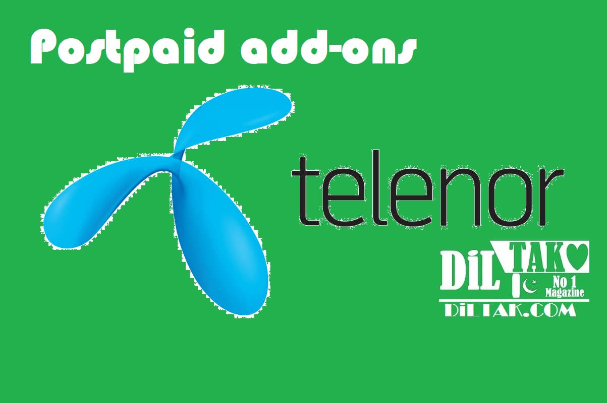 Telenor postpaid add ons
