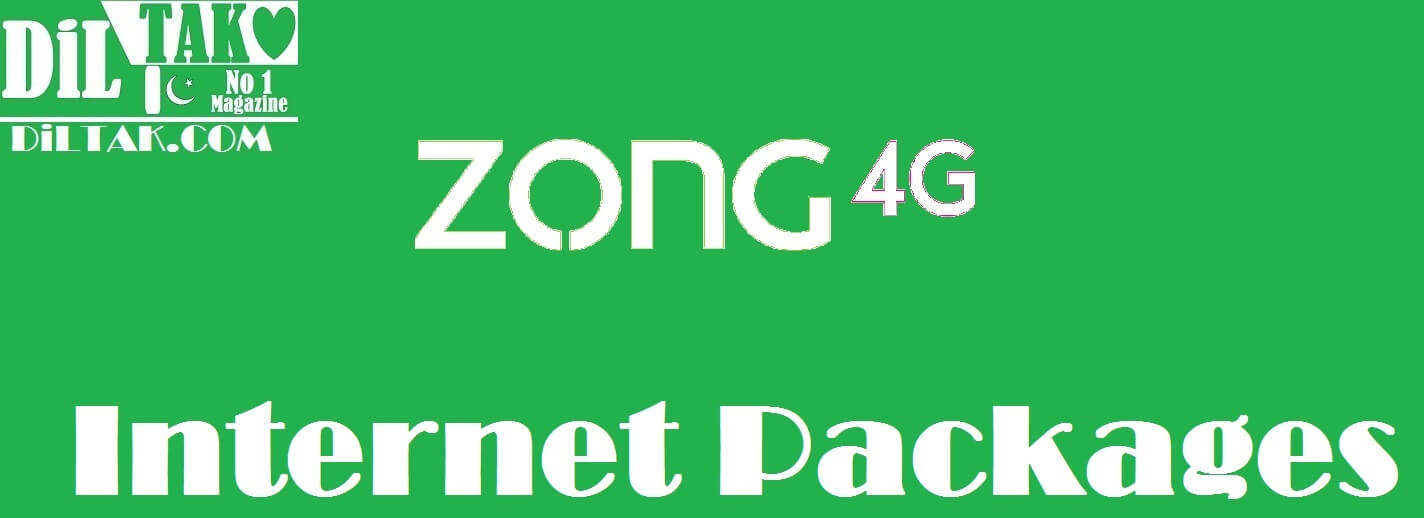 ZONG Internet Packages, Zong Daily Internet packages, Zong weekly Internet packages, Zong monthly Internet Packages