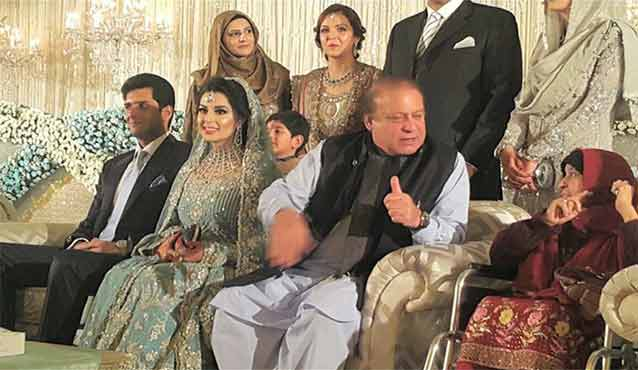 asma nawaz sharif and sharif family photo 2