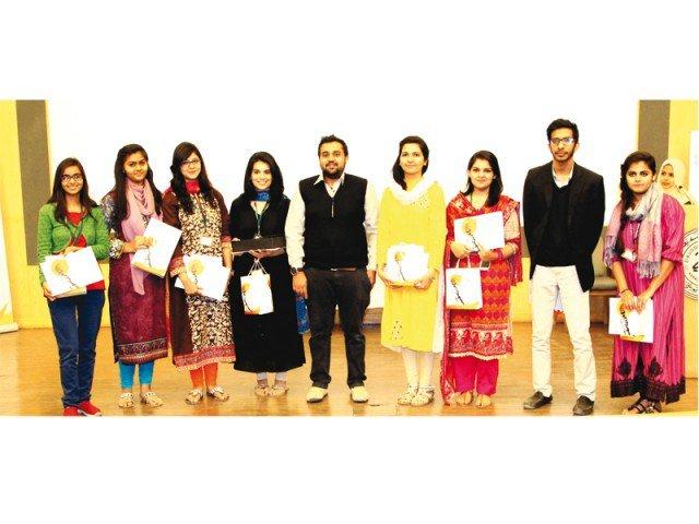 Ziauddin University students